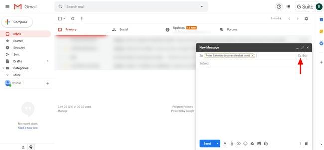 CC trong gmail là gì? Cách sử dụng các tính năng CC và BCC trong Gmail - Ảnh 2.