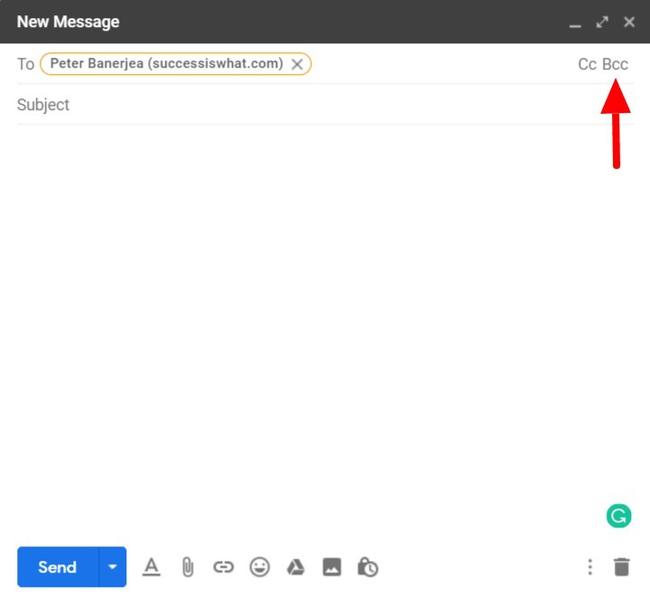 CC trong gmail là gì? Cách sử dụng các tính năng CC và BCC trong Gmail - Ảnh 5.