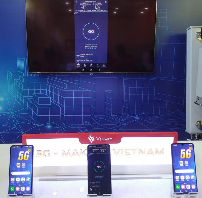Triển lãm các nền tảng số của Việt Nam: thiết bị 5G của Viettel, Vsmart, Bizfly Cloud cùng nhiều giải pháp số mùa dịch  - Ảnh 8.