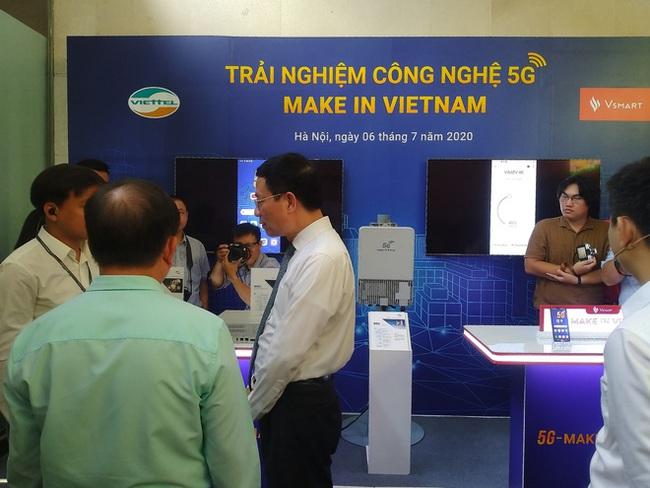 Triển lãm các nền tảng số của Việt Nam: thiết bị 5G của Viettel, Vsmart, Bizfly Cloud cùng nhiều giải pháp số mùa dịch  - Ảnh 6.