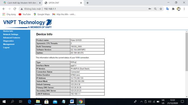 Cách cài đặt IP tĩnh cho thiết bị trên router wifi mạng VNPT đơn giản nhất - Ảnh 4.