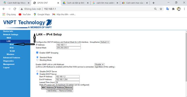 Cách cài đặt IP tĩnh cho thiết bị trên router wifi mạng VNPT đơn giản nhất - Ảnh 9.
