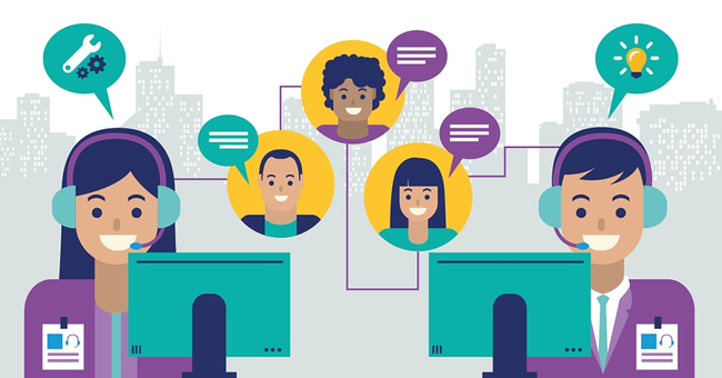 """Contact Center là gì và lợi ích không thể """"xem nhẹ"""" trong quản lý và marketing đa chiều - Ảnh 1."""