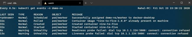 Hướng dẫn theo dõi dịch vụ cốt lõi ASP.NET với TCP Probes trên Kubernetes - Ảnh 3.