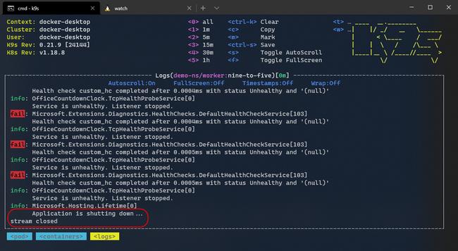 Hướng dẫn theo dõi dịch vụ cốt lõi ASP.NET với TCP Probes trên Kubernetes - Ảnh 4.
