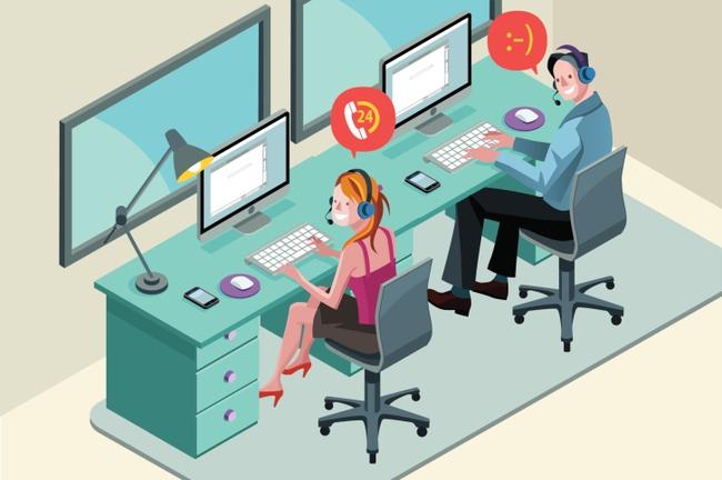 Vị trí quản lý call center