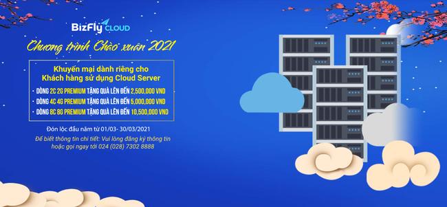 Tổng hợp ưu đãi đầu xuân BizFly Cloud cực hấp dẫn - Ảnh 2.