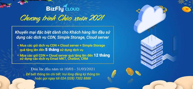 Tổng hợp ưu đãi đầu xuân BizFly Cloud cực hấp dẫn - Ảnh 1.