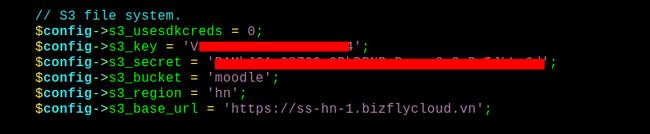 Hướng dẫn tích hợp Simple Storage của Bizfly Cloud với Moodle - Ảnh 6.