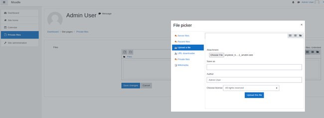 Hướng dẫn tích hợp Simple Storage của Bizfly Cloud với Moodle - Ảnh 13.