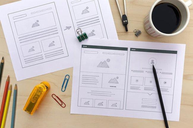 Wireframe là gì? Các bước thiết kế Wireframe cực hiệu quả - Ảnh 1.