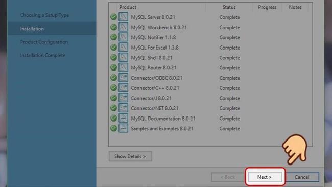 Hướng dẫn cài đặt MySQL trên hệ điều hành Windows đơn giản nhất - Ảnh 10.