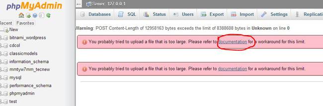 Cách tăng giới hạn dung lượng file upload/import trên phpMyAdmin - Ảnh 1.