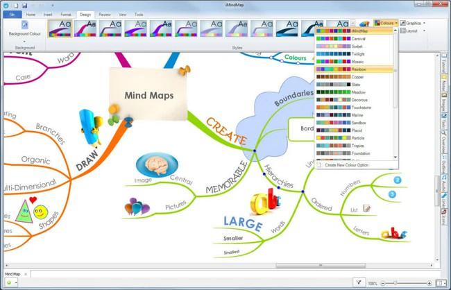 phần mềm vẽ sơ đồ tư duy iMindMap PC