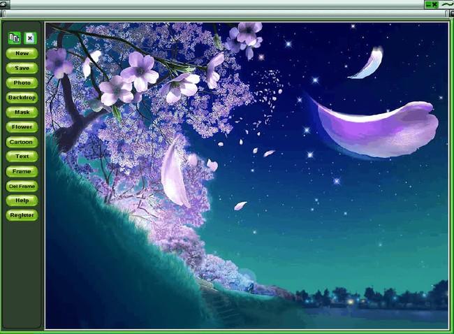 Phần mềm ghép ảnh trên máy tính Magic Photo Editor