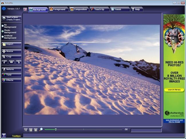 Phần mềm ghép ảnh trên máy tính FotoMix