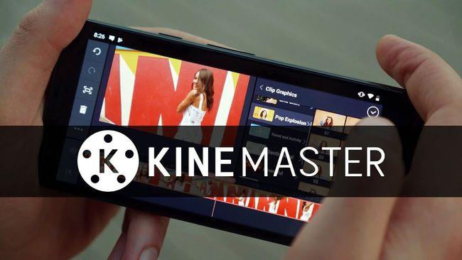 Phần mềm làm video trên điện thoại Kine Master