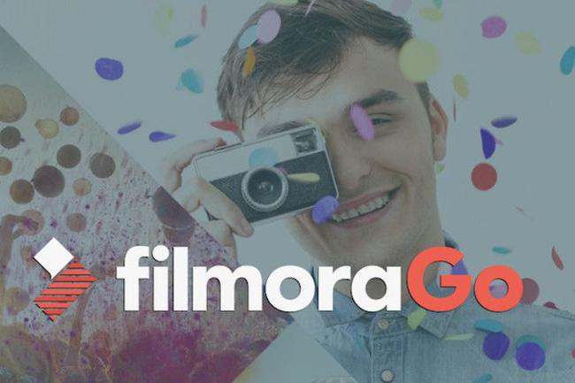 Phần mềm làm video trên điện thoại filmoraGo