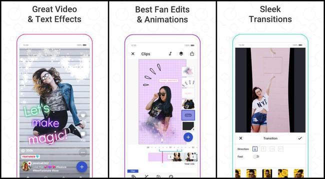 Phần mềm làm video trên điện thoại Funimate