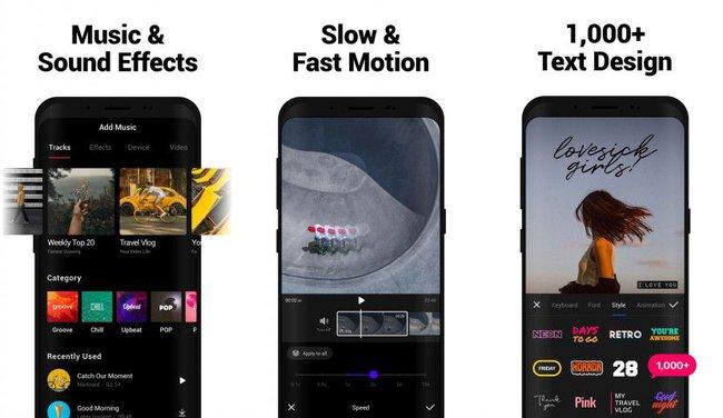 Phần mềm làm video trên điện thoại Vita