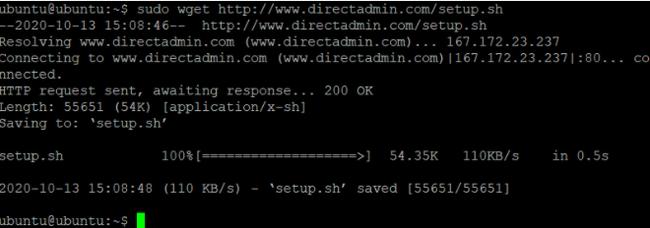 Các bước cài đặt DirectAdmin trên máy chủ Cloud Server Linux - Ảnh 7.