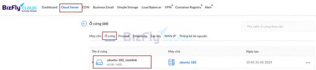 Làm thế nào để khôi phục dữ liệu Cloud Server từ Snapshot? - Ảnh 7.