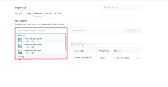 Làm thế nào để khôi phục dữ liệu Cloud Server từ Snapshot? - Ảnh 2.