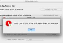 Xử lý lỗi cài đặt MySQL MySQL server has gone away
