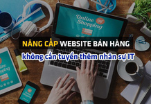 Doanh nghiệp bán hàng online chạy CTKM khủng hậu đại dịch: nâng cấp website nhanh và mượt hơn, không cần tuyển thêm nhân sự IT