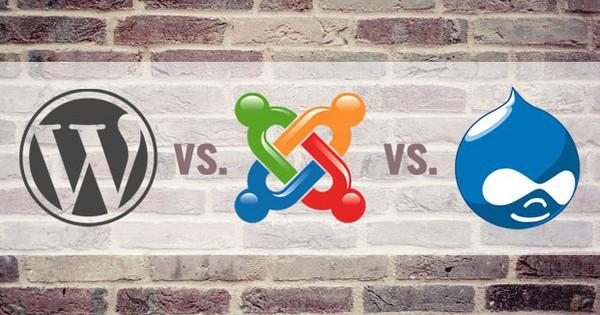 So sánh: Drupal - Joomla - Wordpress