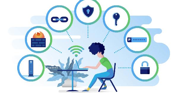 8 cách bảo mật mạng không dây wifi giúp làm việc, lướt web an toàn