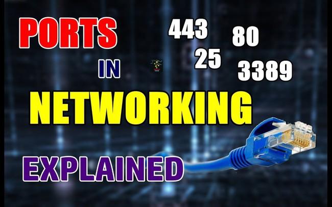 Các port thông dụng nhất trên mạng internet