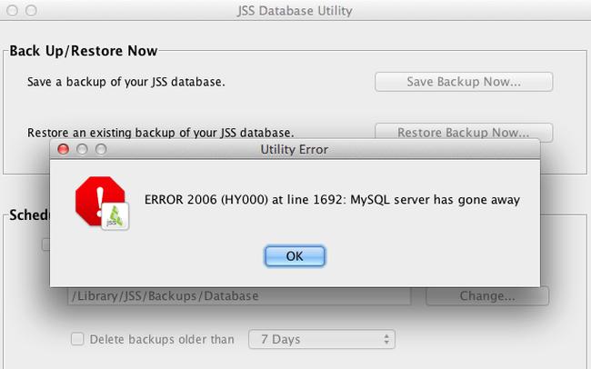 Xử lý lỗi cài đặt MySQL