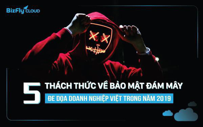 5 thách thức về bảo mật đám mây đe dọa doanh nghiệp Việt trong năm 2019