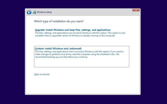 Hướng dẫn cài đặt hệ điều hành Microsoft Window trên máy tính mới nhất