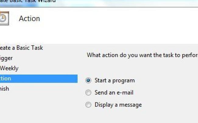Cách lên lịch tác vụ trong Windows 10/8/7 với Create Basic Task