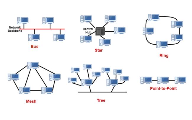 Topology là gì? 5 kiểu Topology phổ biến nhất của mạng LAN