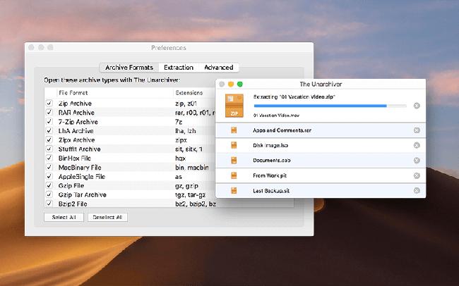 Top 5 phần mềm giải nén tốt nhất trên hệ điều hành Window