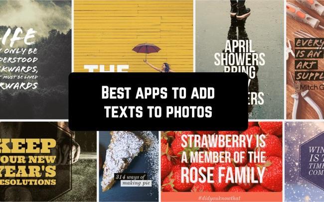 Top 16 phần mềm viết chữ lên ảnh đẹp nhất cho các dự án thật